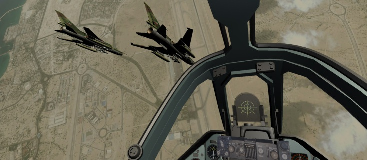 Virtual Reality Flight by Su-22 (Android)