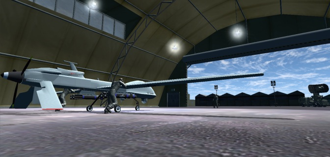 Simulation Flight by Drone