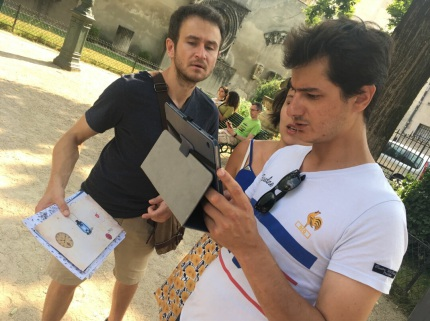 Urban AR-GPS Escape Games (Paris & Sarlat)