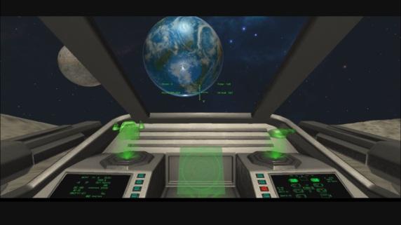 Space Defender VR Game