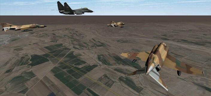 Asemaniha Flight Simulator for Android