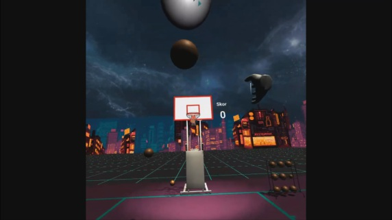 BasketBall VR Game for Oculus Quest