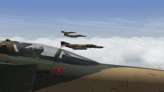 Modafean Aseman Flight Simulation