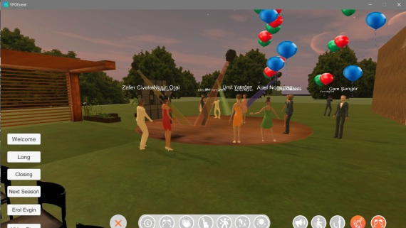 YPO Virtual Party for Oculus Quest/GO and PC